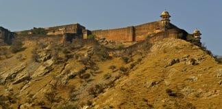 Äußeres von Jaigarh-Fort Stockbilder