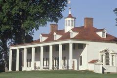 Äußeres von Mt Vernon, Virginia, Haus von George Washington Lizenzfreie Stockfotografie