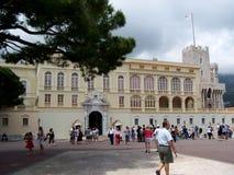 Äußeres von Prinzen Palace in Monte Carlo Monaco Lizenzfreie Stockfotografie