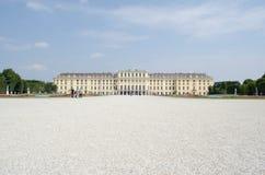 Äußeres von Schonbrunn-Palast, Wien, Österreich Stockfoto