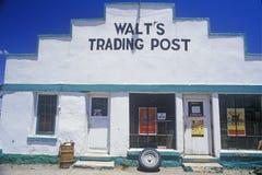 Äußeres zu Walts Handelsstation Stockfoto