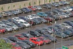 停车处开罗 图库摄影