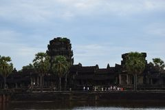 Angkor architecture Khmer Ruins History stock images