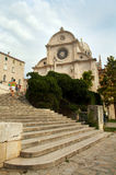 Šibenik cathedral Royalty Free Stock Image