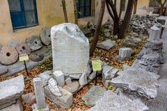 塞瓦斯托波尔,克里米亚- 2014年9月:历史和考古学博物馆储备` Chersonese Taurian ` 库存图片