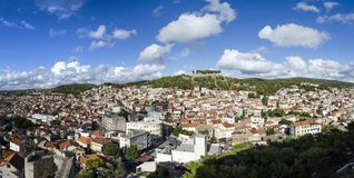 Šibenik Croatia old city Royalty Free Stock Photography