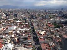 墨西哥城的大厦 免版税库存图片