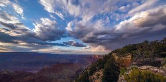 大峡谷,南外缘,亚利桑那,美国 免版税库存照片
