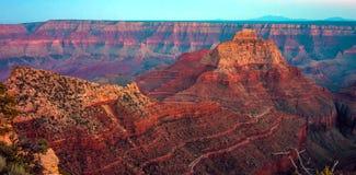 大峡谷,北部外缘,亚利桑那,美国 免版税库存图片