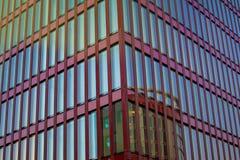 大厦玻璃现代办公室 结构现代都市 玻璃和混凝土建筑的抽象图象 顽皮地 免版税库存照片