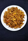 大蒜和姜腌汁 免版税库存图片