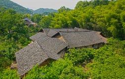 天井瓦屋. This is the South China village, the buildings here out of the ordinary Stock Photography