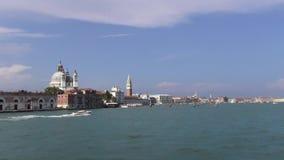 威尼斯-水的一个城市 股票视频