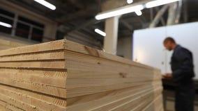 家具工厂,工作流在家具工厂 影视素材