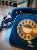守旧派拨号电话 库存照片