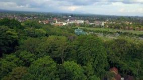 巴厘岛印度尼西亚海岛天线的自然公园 股票录像