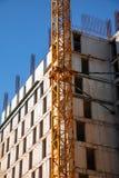 建筑在过程中 库存图片