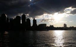 Żagiel łodzie w Boston schronieniu zdjęcia royalty free
