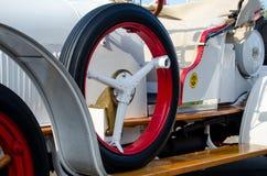 基辅,乌克兰- 2018年9月30日:别克6-21 Speedster 1921年 OldCarLand节日 免版税库存照片