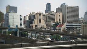 城市门面,高速公路铁路高速公路,公路交叉点,交通 都市的概念 股票视频