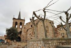 圣奇普里亚诺教会,萨莫拉,西班牙 免版税库存图片