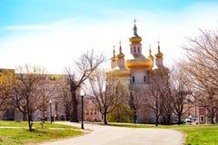 圣迈克尔乌克兰教会在巴尔的摩,美国 免版税库存照片