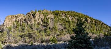 在帕罗宛和布赖恩峰,犹他附近的山 免版税图库摄影