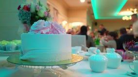 在党的庆祝蛋糕 股票录像