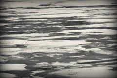 在河的熔化的冬天冰 免版税图库摄影