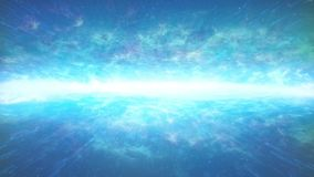 在空间的飘渺发光的天际 皇族释放例证