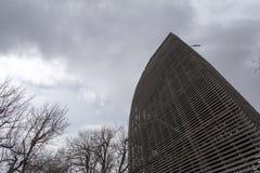 在Pilis的监视塔 免版税库存图片