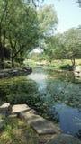 """åŒ-äº¬åœ † æ˜Žå› çš """"æ™¯è ‰ ² Pekin Yuanmingyuan park zdjęcia royalty free"""