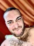 ładna twarz mężczyzna fotografia stock