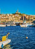 Łodzie rybackie Marsylskie fotografia stock