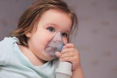 哮喘治疗 库存照片