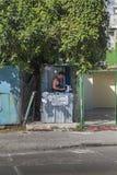 哈瓦那,古巴- 2013年1月21日:城市的街道的看法有古巴人民的 库存照片