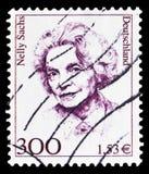 内莉・萨克斯(1891-1970),作家,诺贝尔1966年,德国历史serie的妇女,大约2001年 库存图片