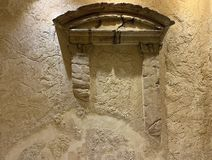 内部五星旅馆Herods的片段在埃拉特 免版税库存照片