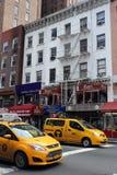 出租车在纽约 库存图片