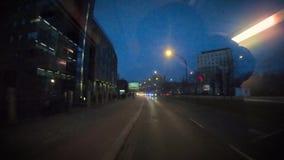 公共汽车乘驾timelapse 股票录像