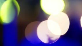 光、诗歌选和灯笼抽象迷离bokeh  股票视频