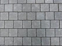 Ściany z cegieł tła kamienny drogowy Szary czerń zdjęcie royalty free