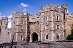 Średniowieczny Windsor kasztel fotografia stock