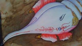 Święta Devine ślimaczka wodnego colour tapeta fotografia stock