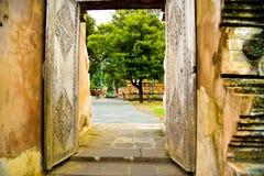 Święty i antyczny teren pałac królewskiego grobowa i kompleksu zdjęcie royalty free
