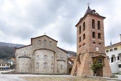 Święty monaster na Athos, Grecja zdjęcia royalty free