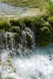 Światło, cień i kolory, Magiczny Plitvice park narodowy obraz royalty free