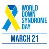 Światu puszka syndromu dzień - wektor royalty ilustracja