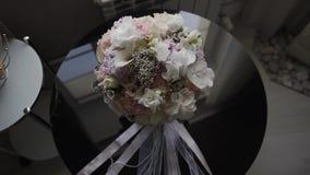 świeże bukiet róże Świąteczny bukiet świezi kwiaty ślub bukieta ślub poślubić kwiatów zdjęcie wideo