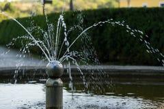 喷泉在公园 布尔诺捷克共和国 库存图片